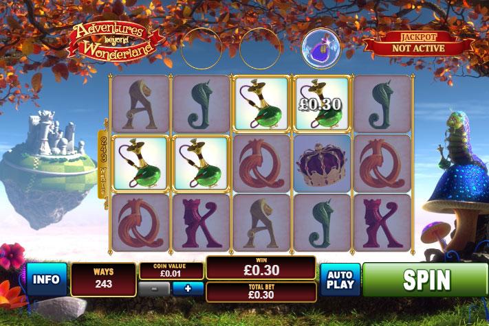 Adventures Beyond Wonderland Slot Machine